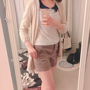 SOUP Classic Cocoa Rolled Up Shorts